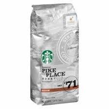 Starbucks Pike Embarrass Roast Coffee Ground Medium Bags, 12 OZ (Pack of 6)