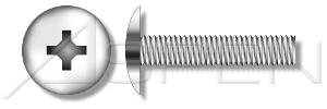 (800pcs) #10-32 X 1' Truss Head, Phillips Drive, Machine Screws, Stainless Steel 18-8, Ships FREE in USA by Aspen Fasteners