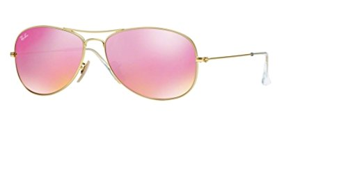 Ray Ban RB3362 112/4T 56M Matte Gold/Cyclamen - Cockpit Ban Ray 56mm