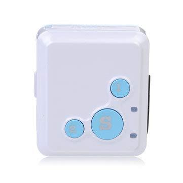 V16 Mini Personal Locator Real Time Tracker SOS Communicator - GPS & Accessories GPS Tracker - (Blue) - 1 X -