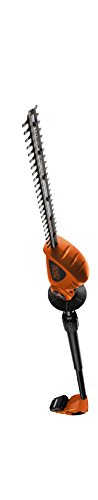 BLACK+DECKER 18V Cordless 43 cm Pole Hedge Trimmer with 2.0Ah Lithium Ion...