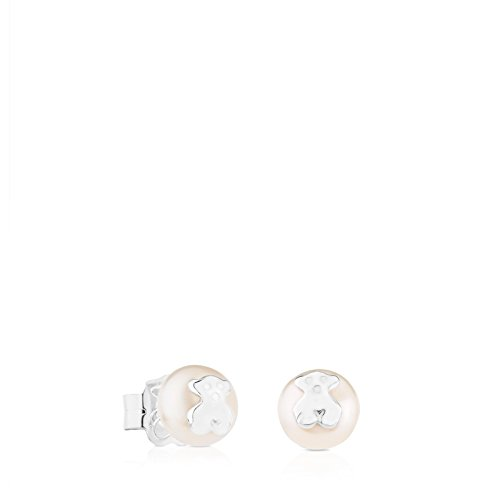 (TOUS Bear Earrings in Sterling Silver)