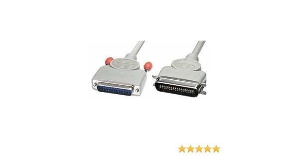31306 25DM//36CM Lindy Bi-Directional PC Parallel Printer Cable 3m