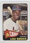 Card Brock Lou Baseball (Lou Brock (Baseball Card) 2011 Topps - 60 Years of Topps #60YOT-14)
