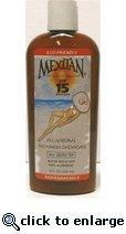 Mexitan SPF 15 All Natural Biodegradable Sunscreen-MXSPF15-8oz