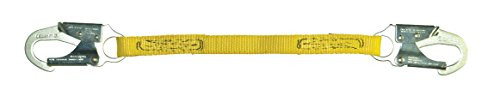 Guardian Fall Protection 01265 6-Foot Single Leg Non-Shock Absorbing Lanyard