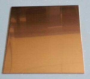"""JumpingBolt Copper Sheet Plate .0431"""" 32oz 18 Gauge 24"""" x 36"""" Material May Have Surface Scratches"""