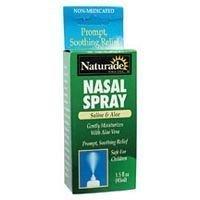 NATURADE SALINE & ALOE NASAL SPRAY, 1.5 FZ by Naturade
