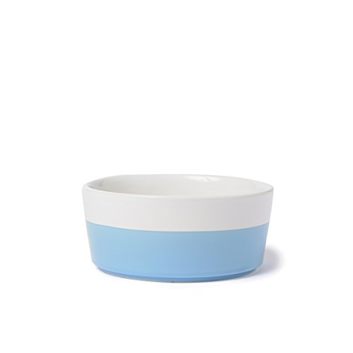 Waggo Dipper Bowl - Cerulean - Medium - 2.75 x 6.5 inches