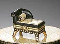 Tuscany Chaise Treasure Box -