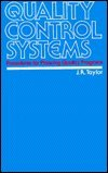 Quality Control Systems, James Robert Taylor, 0070631603