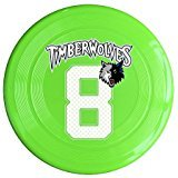 YQUE56 Unisex Zach 8# LaVine Basketabll Player Outdoor Game, Sport, Flying Discs,Game Room, Light Up Flying, Sport Disc ,Flyer Frisbee,Ultra Star KellyGreen One Size