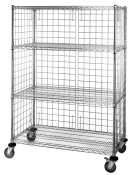 22 Gauge Steel Shelving (Quantum Storage Systems EP226 Modular Enclosure Panel for Wire Shelving Units, 62