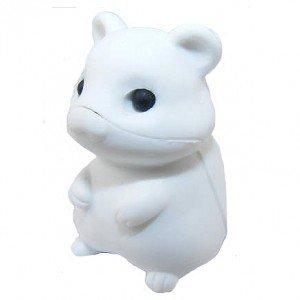 r Hamster - All White (Hamster Eraser)