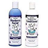 AllPetNaturals South Bark's Blueberry Facial & Bluberry Clove Conditioner 12oz