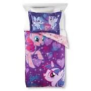 My Little Pony Comforter and Sheets with Bonus Sham TWIN