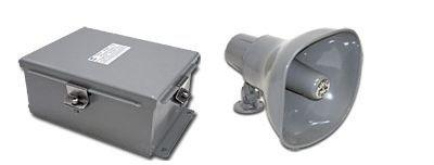 NEMA 4X Audible Horn - 120/240V AC - Industrial Siren