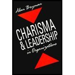 Charisma and Leadership in Organizations, Bryman, Alan, 0803983182