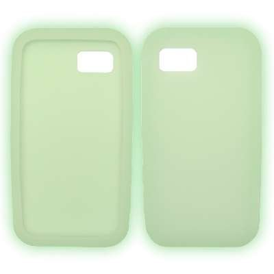 Glow in the Dark Soft Silicone Gel Skin Cover Case for Samsung Eternity A867 [Accessory Export (A867 Eternity Silicone)