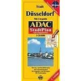 ADAC Stadtpläne, spezialgefaltet, Düsseldorf