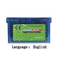 32 Bit Handheld Console Video Game Cartridge Card MegaMan Battle Network 5 Team Protoman English Language EU Version Blue shell