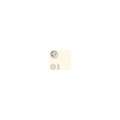 New Swarovski Elements 2028 Foiled Hotfix Flatbacks ss 34 Crystal Clear 1 Gross (144) Rhinestones Factory Pack