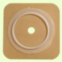 Convatec 401575 SUR-FIT Natura Stomahesive Skin Barrier; no tape collar, 45mm (1 3/4'') flange, 4'' x 4'', 10/BX