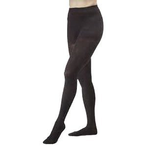 Women's Ultrasheer 30-40 mmHg Extra Firm Support Pantyhose Size: Large, Color: Classic Black