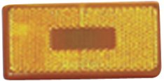 - Fasteners Unlimited 89-181A Amber Rectangular Replacement Lens