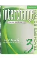 Interchange Teacher's Edition 3