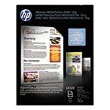 HP - Color Laser Presentation Paper, 97 Brightness, 32lb, 8-1/2 x 11, White, 250/Pack - Sold As 1 Pack - Paper has been designed so you can print on either side of the page first.