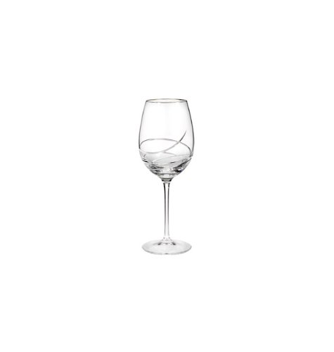 Waterford Glass Stemware - Waterford Ballet Ribbon Essence Platinum Red Wine/Goblet