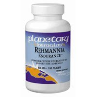 Rehmannia Endurance, 75 Tabs by Planetary Herbals (Pack of 6) by Planetary Herbals