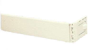 Graber 2 1/2-Inch Dauphine Wide Pocket Curtain Rod (66 to 156-Inch Adjustable Width, White)