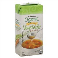 Wegmans Vegetable Broth, Organic, Low Sodium, 32oz (Pack of 2)