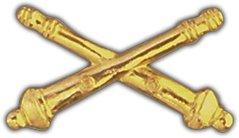 US Army Field Artillery Lapel Pin (Cross Cannons)