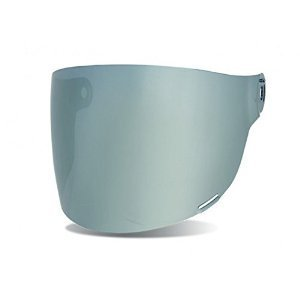 Helmet Silver Shield (Bell Bullitt Flat Face Shield (SILVER IRIDIUM))