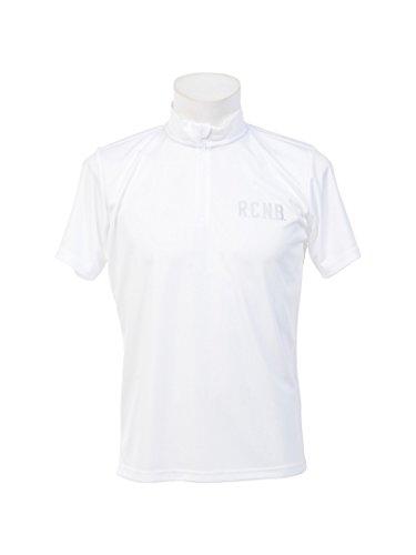 カーフのど透けて見える(ナンバー) Number R.C.N.B. ベーシック RUN ハーフジップTシャツ