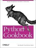 Python Cookbook, Alex Martelli, David Ascher, 0596001673