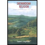 img - for Shenndoah Religion - Outsiders in the Mainstream, 1716-1865 (02) by Stephen - Longenecker, L [Paperback (2002)] book / textbook / text book