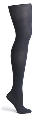 Navy Opaque Tights - 2