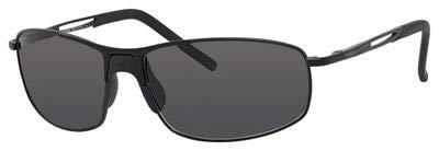 - Carrera Huron Sunglasses HURONS-091T-Y2-6015 - Matte Black Frame, Gray Polarized Lenses, Lens