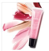 Avon Lipgloss Mark Juice Gems Juicy Fig Shimmer Beige Squeeze Tube