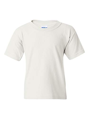 Gildan Activewear Boys' Youth Heavyweight Cotton Tee Shirt,