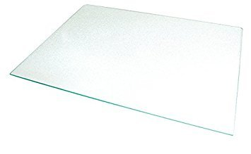Frigidaire-Compatible 240350608 Crisper Glass Replacement - Refrigerator Pan Cover Insert - Shelf/Shelves/Drawer Parts - Pan Frame Insert 24 x 15.5'' - By Impresa - Shelf Glass Drawer Crisper