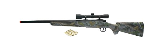 New Ray Real Camo Single Barrel with Scope, Green ()