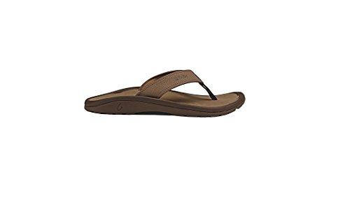 OLUKAI Men's Ohana Sandal, Mustang/Mustang, 13 M US ()