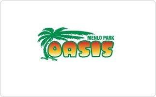 The Oasis Beer Garden of Menlo Park Gift Card - Stores Menlo
