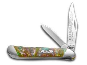 Case Cutlery S9220AB Peanut Pocket Knife, Small, Abalone