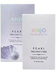 (Pearl Two Way Cake Make-up 13g #13 Light Beige Two Way Pressed Powder and Foundation 3 Colors (#13))
